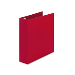 "Avery Economy Non-View Binder with Round Rings, 11 x 8 1/2, 2"" Capacity, Red"