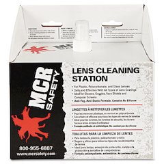 Disposable Lens Cleaning Station, 300 Tissues, 8oz Solution