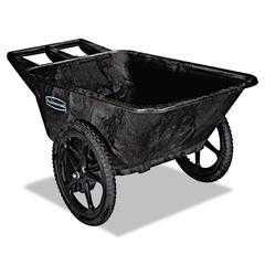 Big Wheel Agriculture Cart, 300-lb Cap, 32-3/4 x 58 x 28-1/4, Black