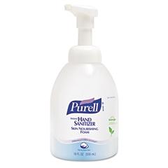 PURELL Instant Hand Sanitizer Skin Nourishing Foam, 535mL Bottle, 4/Carton