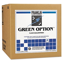 Franklin Cleaning Technology Green Option Floor Sealer/Finish, 5gal Box