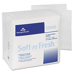 Soft-n-Fresh Airlaid Wipers, 12 1/2 x 13, 990/Carton