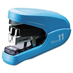 Max Flat Clinch Light Effort Stapler, 35-Sheet Capacity, Blue