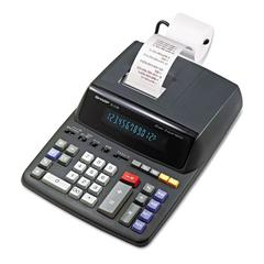 EL2196BL Two-Color Printing Calculator, Black/Red Print, 3.7 Lines/Sec