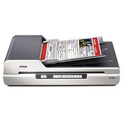 GT-1500 Flatbed Color Image Scanner, 600dpi, Manual Paper Feeder