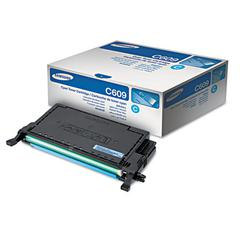CLTC609S High-Yield Toner, 7,000 Page Yield, Cyan