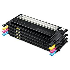 CLTP409C Toner, 1000 Page-Yield, Black/Cyan/Magenta/Yellow, 4/Box