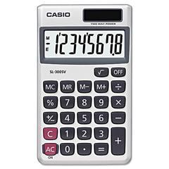 SL-300SV Handheld Calculator, 8-Digit LCD