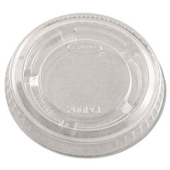 Dart Complements Portion/Medicine Cup Lids, Plastic, Clear, 2500/Carton