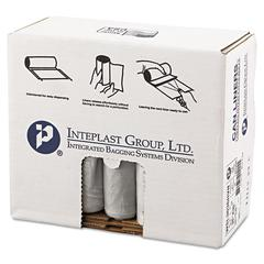 Low-Density Can Liner, 30 x 36, 30gal, .58mil, Clear, 50/Roll, 10 Rolls/Carton