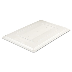 Rubbermaid Commercial Food/Tote Box Lids, 26w x 18d, Clear
