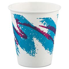 SOLO Cup Company Jazz Paper Hot Cups, 6oz, Polycoated, 50/Bag, 20 Bags/Carton