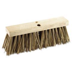 "Street Broom Head, 16"" Wide, Palmyra Bristles"