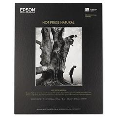 Hot Press Natural Fine Art Paper, 17 x 22, 25 Sheets