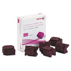 108R01015 High-Yield Ink Stick, 16900 Page-Yield, Magenta, 6/Box