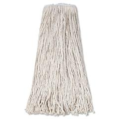 Boardwalk Mop Head, Premium Standard Head, Cotton Fiber, 32oz, White, 12/Carton