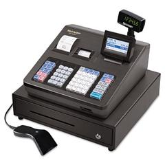 Sharp XE Series Cash Register w/Scanner, Thermal Printer, 7000 Lookup, 40 Clerks, LCD