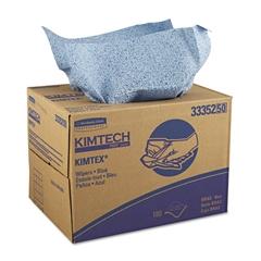 Kimtech* KIMTEX Wipers, 12 1/10 x 16 4/5, Blue, 180/BRAG Box