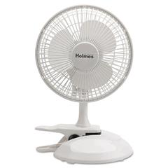 "6"" Convertible Clip/Desk Fan, 2 Speed, White"