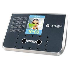 Lathem Time Face Recognition Time Clock System. 500 Employees, Gray, 7-1/4 x 3-1/2 x 5-1/4