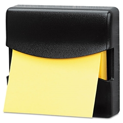 Fellowes Partition Additions Pop-Up Note Dispenser for 3 x 3 Pads, Dark Graphite
