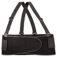 Allegro Economy Back Support Belt, Medium, Black
