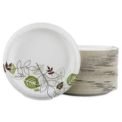 "Dixie Ultra Pathways Soak Prooof Shield Heavyweight Paper Plates, 8 1/2"", 125/Pack"