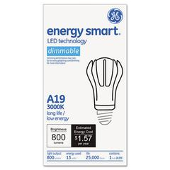 Soft White A-Line LED Light Bulb, A19, 13 Watts
