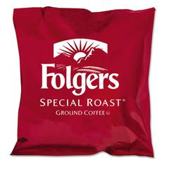 Folgers Ground Coffee, Fraction Packs, Special Roast, 42/Carton