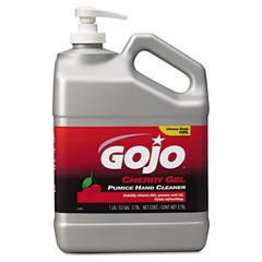 GOJO Cherry Gel Pumice Hand Cleaner, Cherry, 1gal