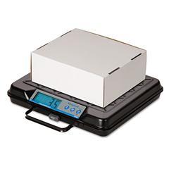 Portable Electronic Utility Bench Scale, 100lb Capacity, 12 x 10 Platform