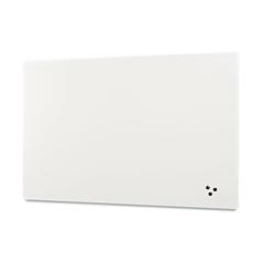 Best-Rite Elemental Frameless Markerboard, Porcelain Steel, White Glossy, 48 x 48 x 1/8