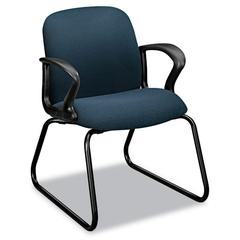 Gamut Series Sled Base Guest Chair, Cerulean