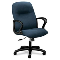 HON Gamut Series Managerial Mid-Back Swivel/Tilt Chair, Cerulean