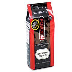 VERSANTO Force-3X Hyper-Caffeinated Coffee, High Octane Premium, 6/Carton