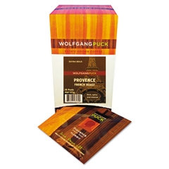 Wolfgang Puck Coffee Pods, French Roast, 18/Box