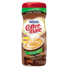 Coffee-mate Sugar Free Creamy Chocolate Flavor Powdered Creamer, 10.2 oz