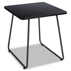 Safco Anywhere End Table, 20w x 20d x 19-1/2h, Black