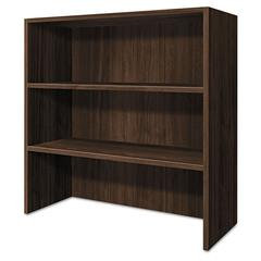 HON Voi Bookcase Hutch, 36w x 14d x 35h, Columbian Walnut