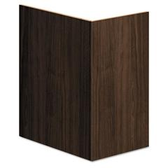 HON Voi End Panel Support, 16w x 20d x 28-1/2h, Columbian Walnut