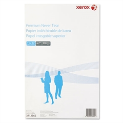 Xerox Revolution Premium Never Tear Paper, 11 x 17, 4.7 mil, White, 100 Sheets/PK