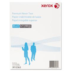 Xerox Revolution Premium Never Tear Paper, 8 1/2 x 11, 4.7 mil, White, 100 Sheets/PK