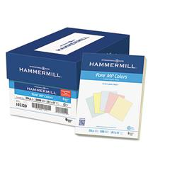Hammermill Recycled Colored Paper, 20lb, 8-1/2 x 11, Assorted, 500 Sheets/Ream