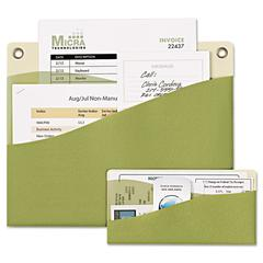 Avery Decorative Wall Pockets, Cottage Combo Pack, Green/Off White, 2/Pack