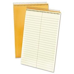Ampad Spiral Steno Book, Gregg, 6 x 9, 15 lb, Green Tint, 80 Sheets