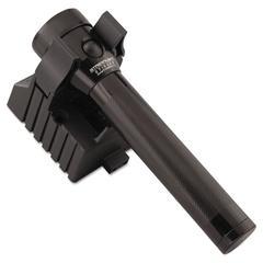 Stinger Rechargeable Flashlight, 3.6V NiCad, 120V AC/DC Charger, Black