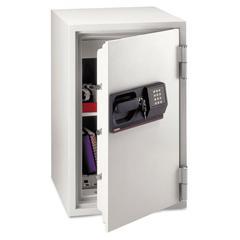 Commercial Safe, 3 ft3, 20 1/2w x 22d x 34 1/2h, Light Gray