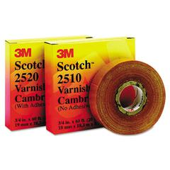 "Scotch 2520 Varnished Cambric Tape, 3/4"" x 60ft"