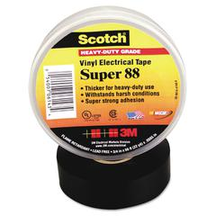 "Scotch 88 Super Vinyl Electrical Tape, 3/4"" x 66ft"