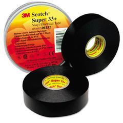 """Scotch 33+ Super Vinyl Electrical Tape, 3/4"""" x 52ft"""